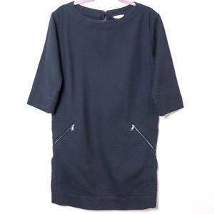 Gap   Quilted Half Sleeve Pocket Dress
